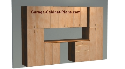 Garage cabinets build garage cabinets yourself for Do it yourself garage plans