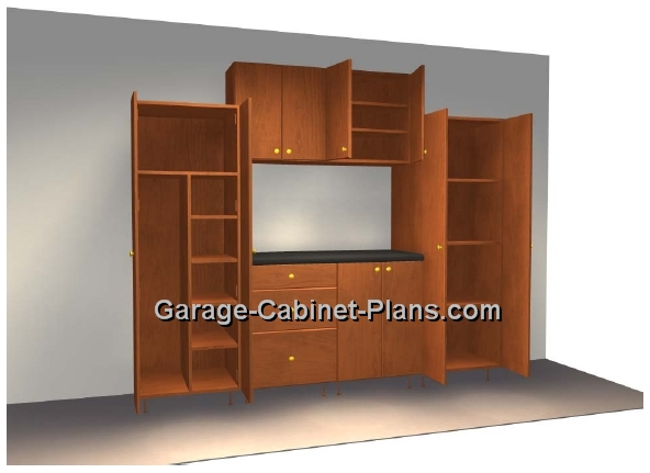 Free garage cabinet plans download and get started today for Build your garage online