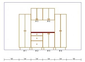 8 ft Plywood Garage Cabinet Plans - Garage Cabinet Plans