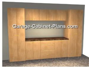 Garage Cabinets Plans