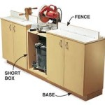 Get free plans for this chop saw stand.