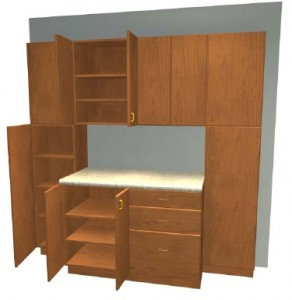 Build Your Own Garage Cabinets with Garage Cabinet Plans ...