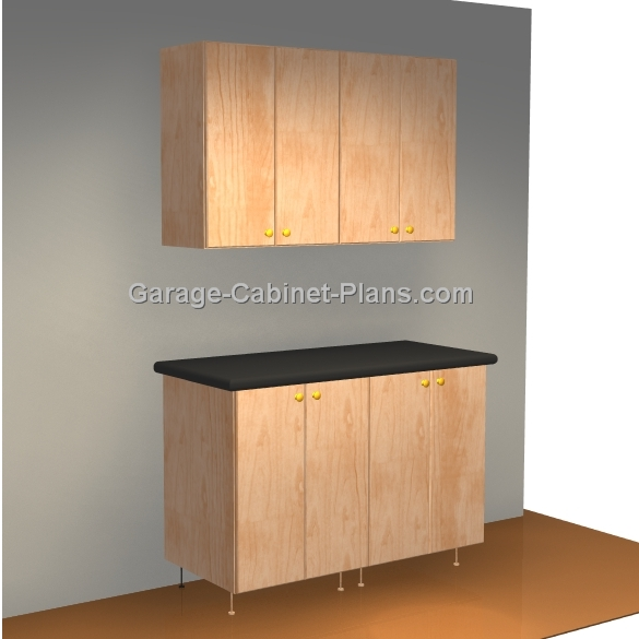 Easy Garage Cabinets Plans