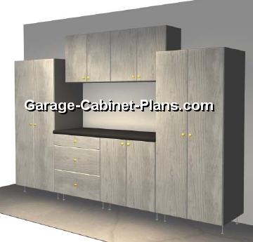 Tuff Stor 6 Pc Set · Plywood Garage Cabinet Plans